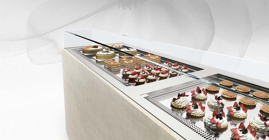 Pastry Display Cases 500 Drop-In-ORION