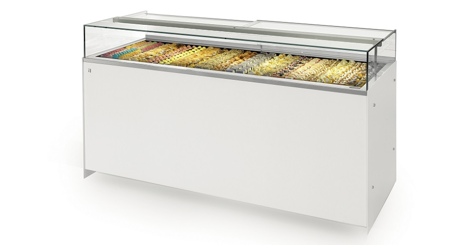 Snack Display Cases Drop-In Delice-IFI
