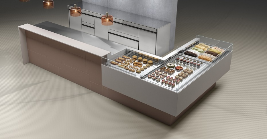 Pastry Display Cases 750 Maestro-ORION