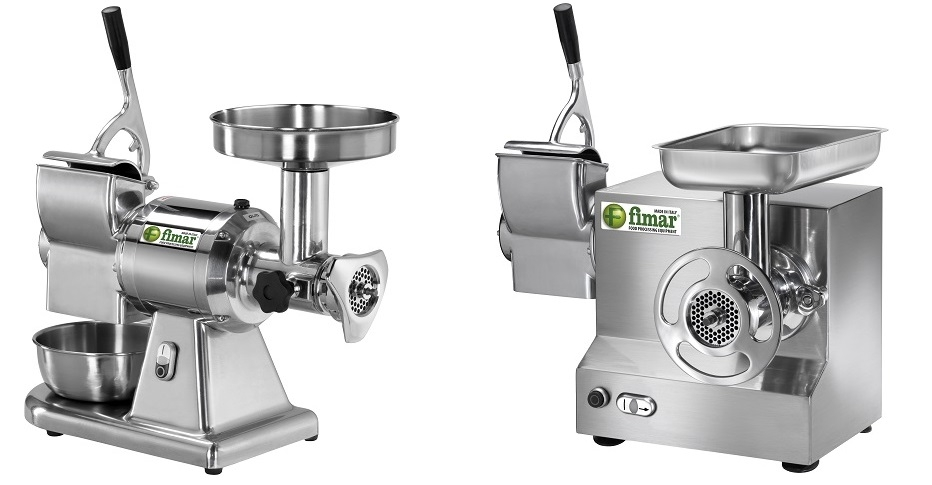 Compined Meat Mincer and Grater